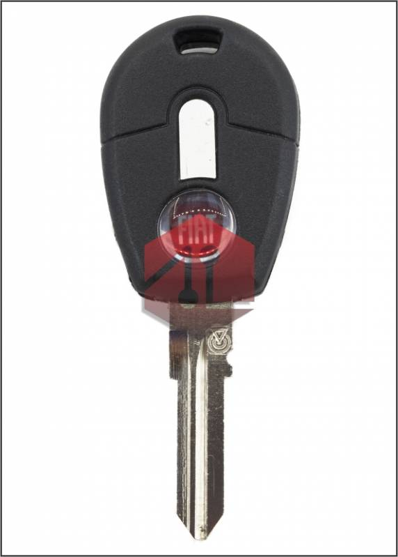 Llave Fiat Uno-palio-siena Negra L/n (gt15rte)