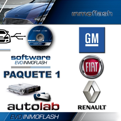 Evo Inmoflash 7.0 Pack 1 (fiat-renault-gm-extras)